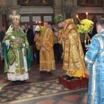 Fr. Serge, Padraig Purcell, Bishop Hlib Lonchyna