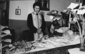 о. Петро Крик на похороні о. Мирослав Ріпецького
