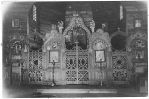 Іконостас у 1935 році