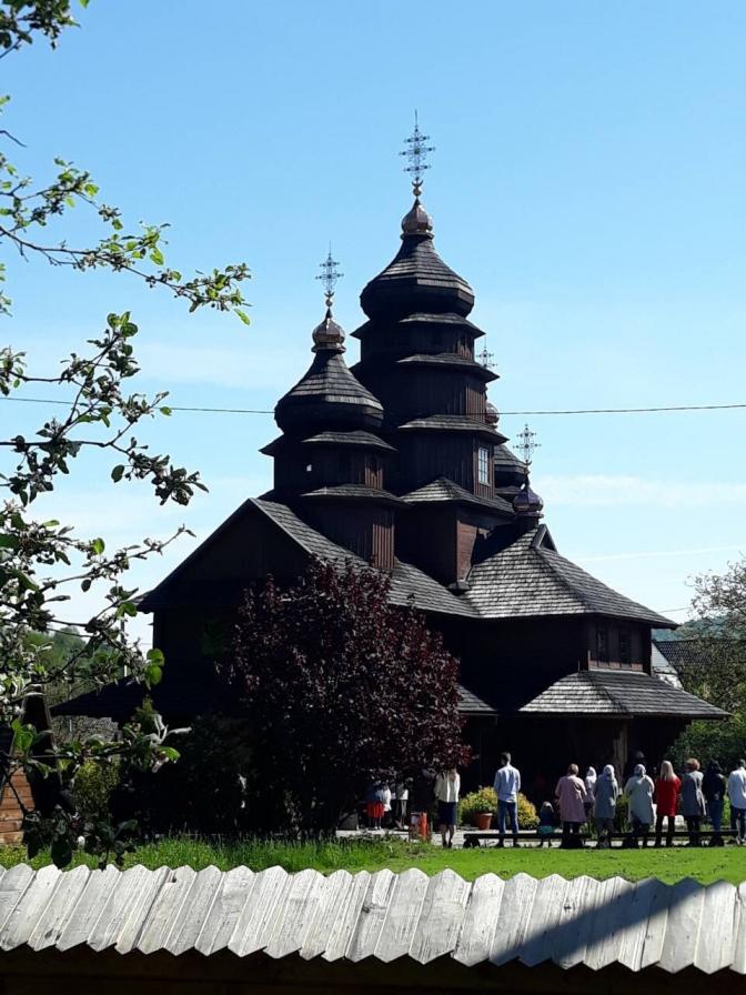 Church of St. Prophet Elijah. Dora, Ivano-Frankivsk region