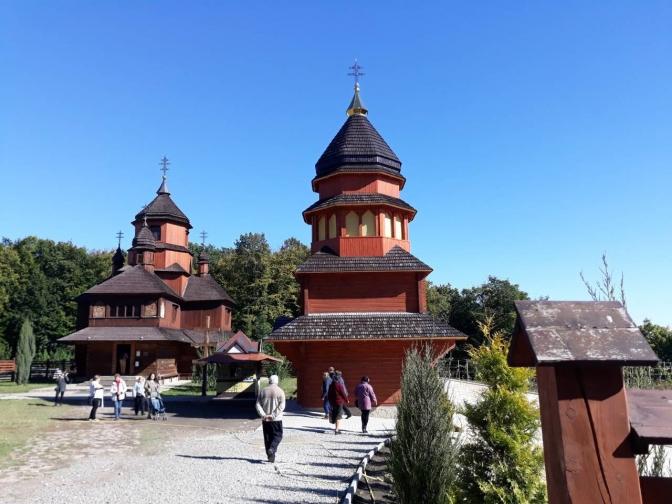 Church of the Holy Trinity. Zarvanytsia, Ternopil region
