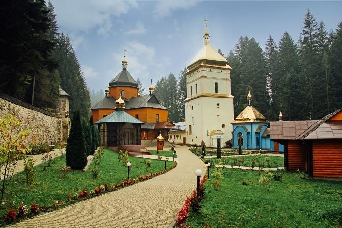 Maniavskyi hermitage, Ivano-Frankivsk region