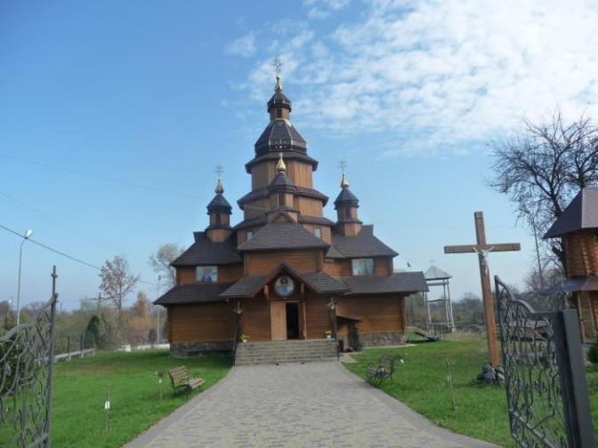 Church of St. Borys and Hlib, Zhydachiv