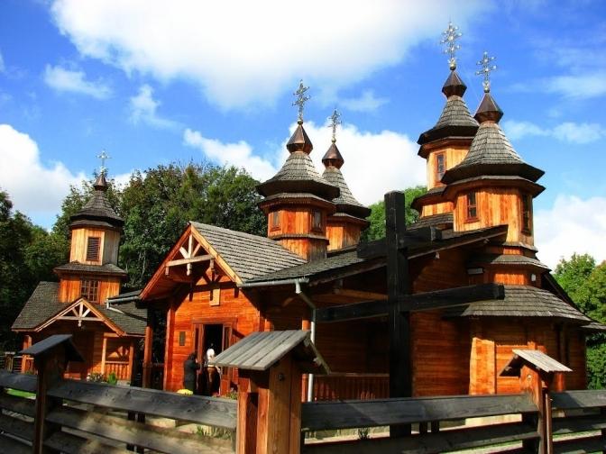 Church of the Blessed Martyr Oleksiy Zarytskyi. Lukasha street, Lviv