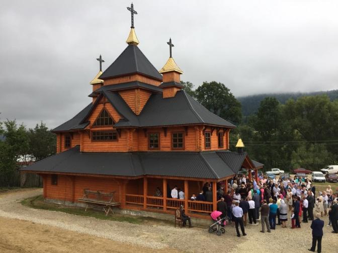 Church of the Resurrection, Bilychi Horishni