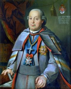 Портрет Київського митрополита Лева Шептицького